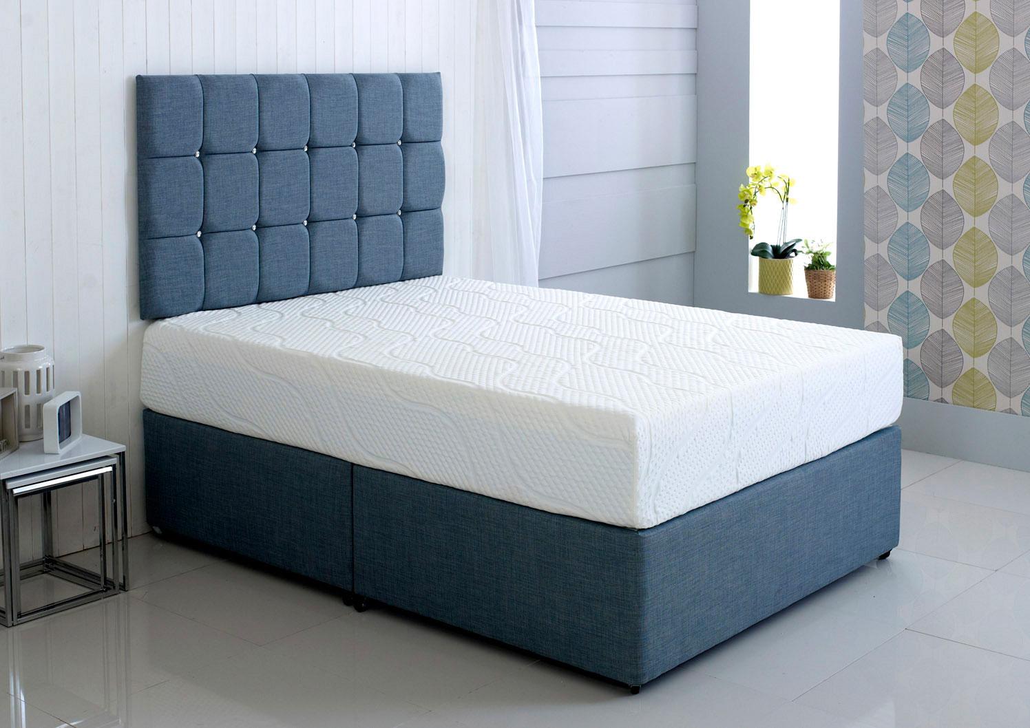 Kayflex Hybrid Cool Blue Memory Foam Mattress Best Beds